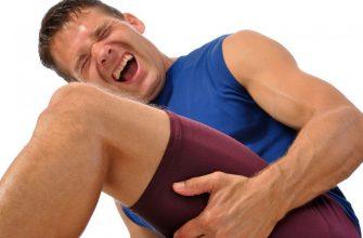 растяжение мышщ