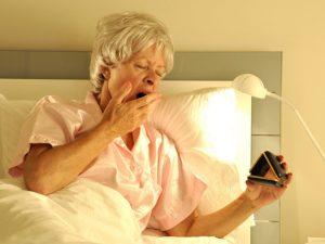 возрастное нарушение сна